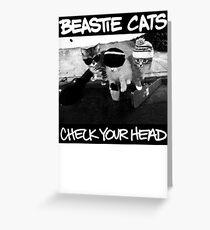 Beastie Boys Cats Greeting Card