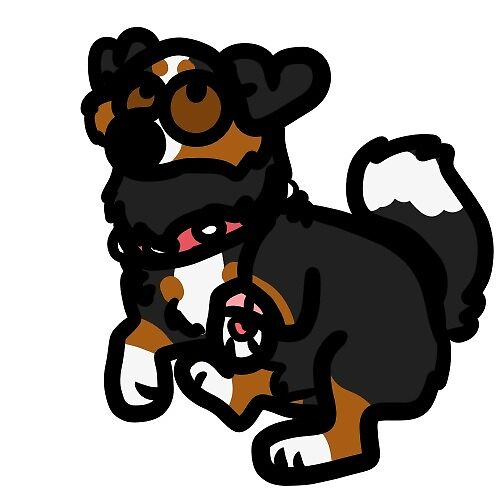 Lund bernese mountain dog by cozycanine