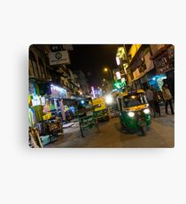 Delhi Nights  Canvas Print