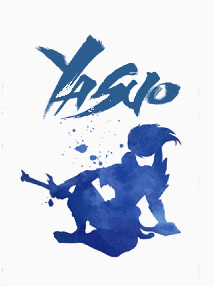 League of Legends: Yasuo Silhoutte by Varus