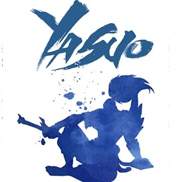League of Legends: Yasuo Silhoutte by Varus