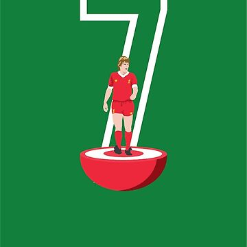 Kenny Dalglish - Table Football by WASABISQUID