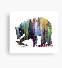 Bear Canvas Print