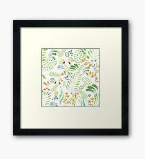 lovely green Framed Print