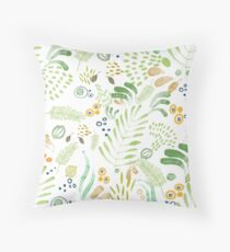 lovely green Throw Pillow