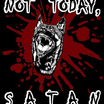 Not Today, Satan - Belgian Malinois V2 by tiewolf