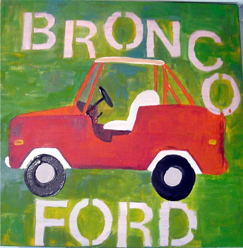 Bronco by pascale cerdan