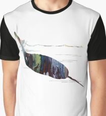 Narwhal Art Graphic T-Shirt