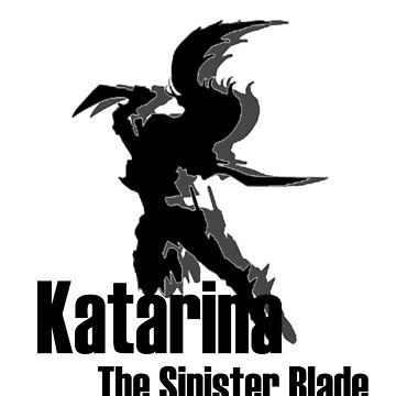 League of Legends: Katarina Silhoutte by Varus