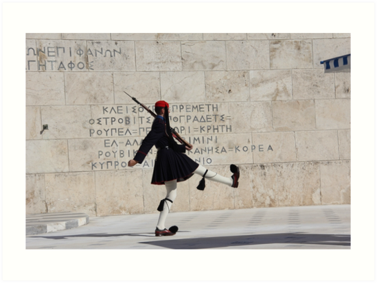 Guard in Athens by PhotosbyRhea