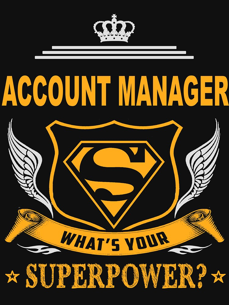 ACCOUNT MANAGER LATEST DESIGN by charlessilva