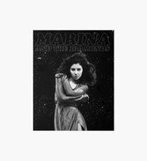 Marina und die Diamanten-Juwelen Galeriedruck