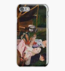 A Woman and a Girl Driving 1881 Mary Cassatt iPhone Case/Skin