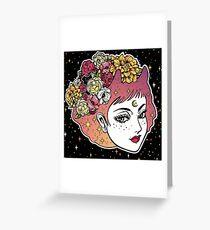 Floral Venus Greeting Card