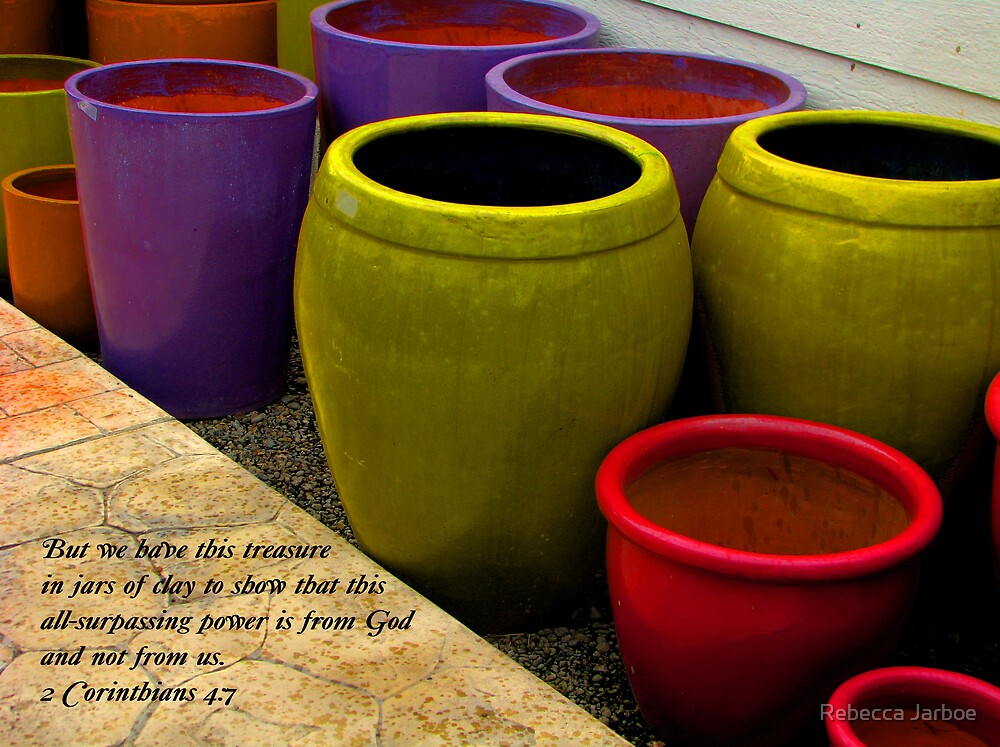 Jars of Clay by Rebecca Jarboe