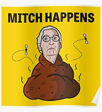 Mitch Happens Poster