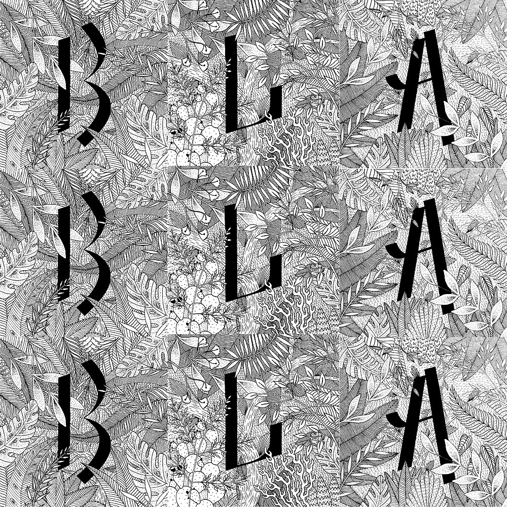BLA BLA BLA by Cécilia Leroux