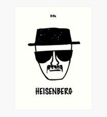 Breaking Bad · Heisenberg Art Print