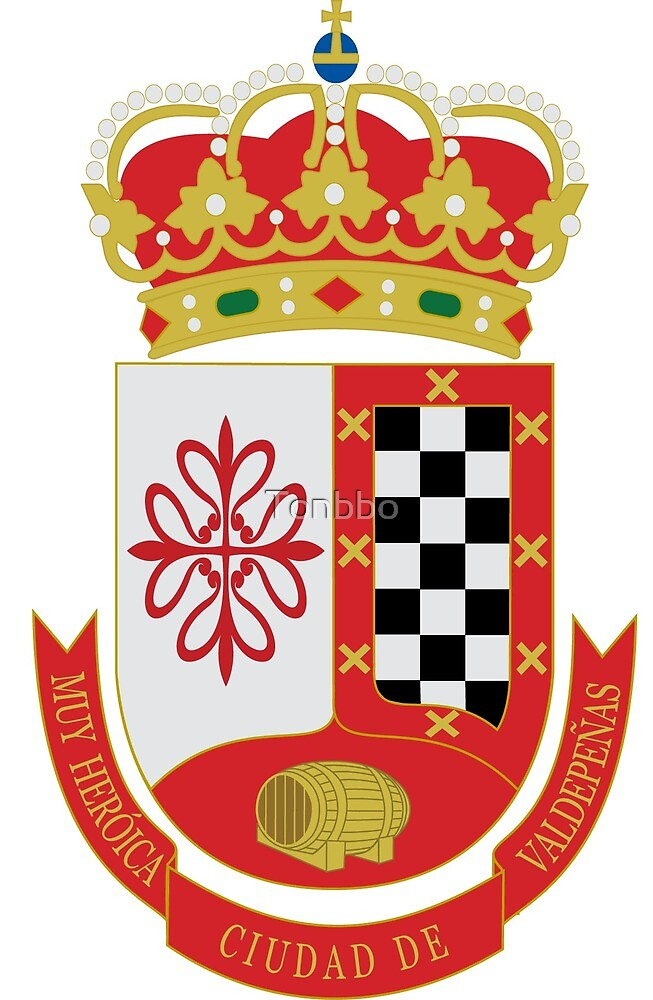 Coat of Arms of Valdepeñas, Spain by Tonbbo
