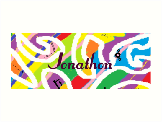 Jonathon -	original artwork to personalize your gift by myfavourite8