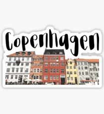 Copenhagen Sticker