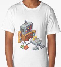 Retro gaming console Long T-Shirt