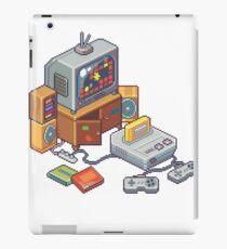 Retro gaming console iPad Case/Skin