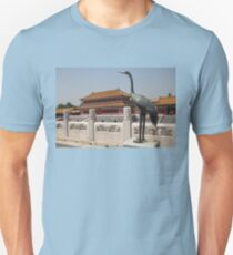 China. Beijing. The Forbidden City. Sculpture of a Bird. Unisex T-Shirt