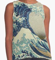 Die große Welle vor Kanagawa von Katsushika Hokusai Kontrast Top