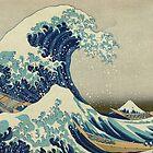 The Great Wave off Kanagawa by Katsushika Hokusai by Robert Partridge