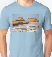 China. Beijing. The Forbidden City. Buildings & Fences. Unisex T-Shirt