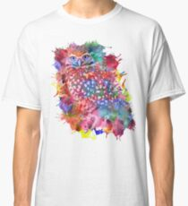 Rainbow owl Classic T-Shirt