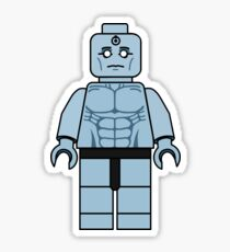 Lego Doctor Manhattan - Watchmen Minifigure Sticker