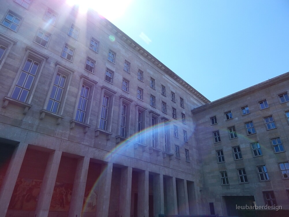 Architecture // Lens flare by lewbarberdesign