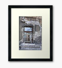 The Last One Framed Print