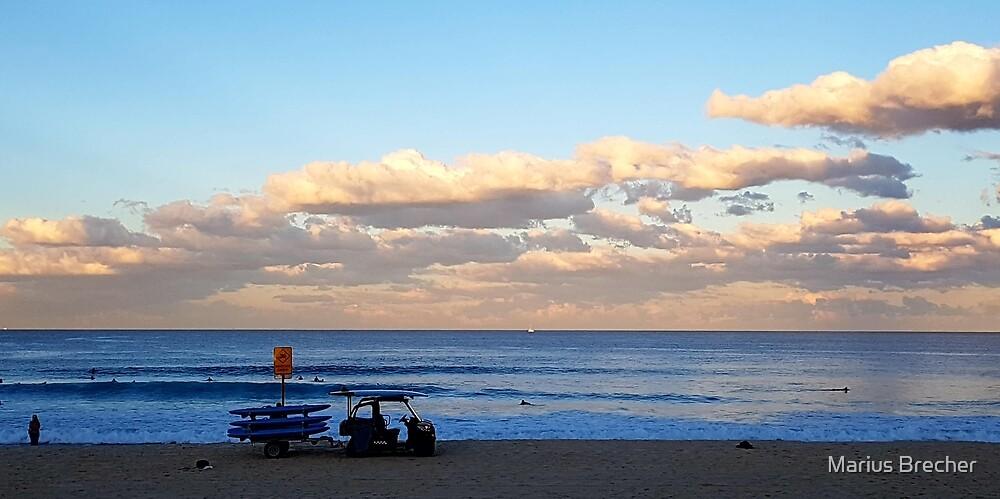Winter Beach Day by Marius Brecher
