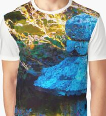 Japanese Painted Garden Graphic T-Shirt