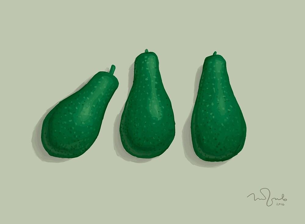 Avocado by Penko Gelev