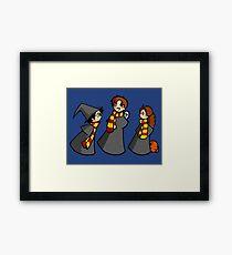 Harry Potter - the Golden Trio Framed Print