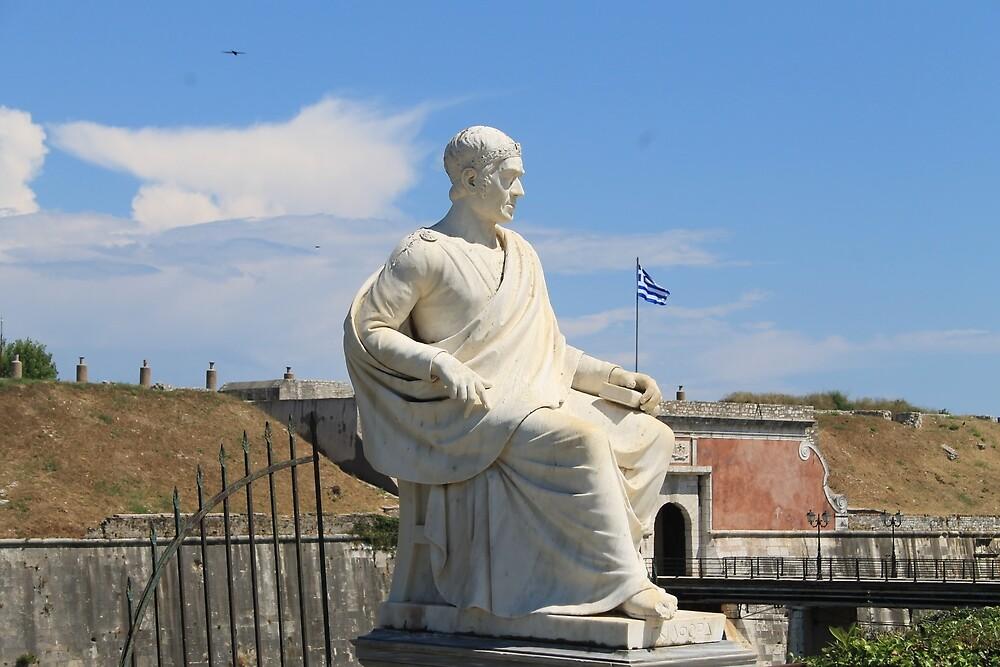 Flying the Greek Flag by tills