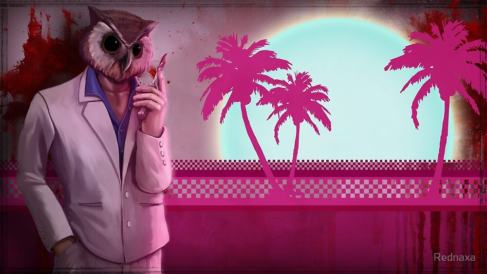Hotline Miami high res by Rednaxa