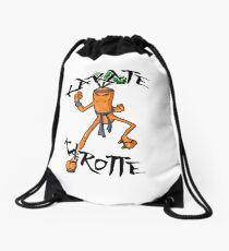 Karaté Karotte Drawstring Bag