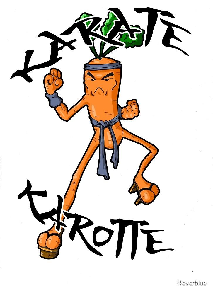 Karaté Karotte by 4everblue