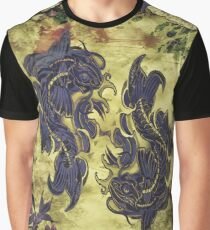 Koi Art 2 Graphic T-Shirt