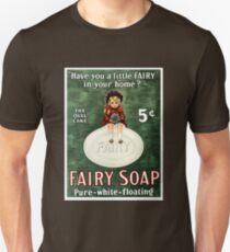 Vintage Fairy Soap Advertisement T-Shirt