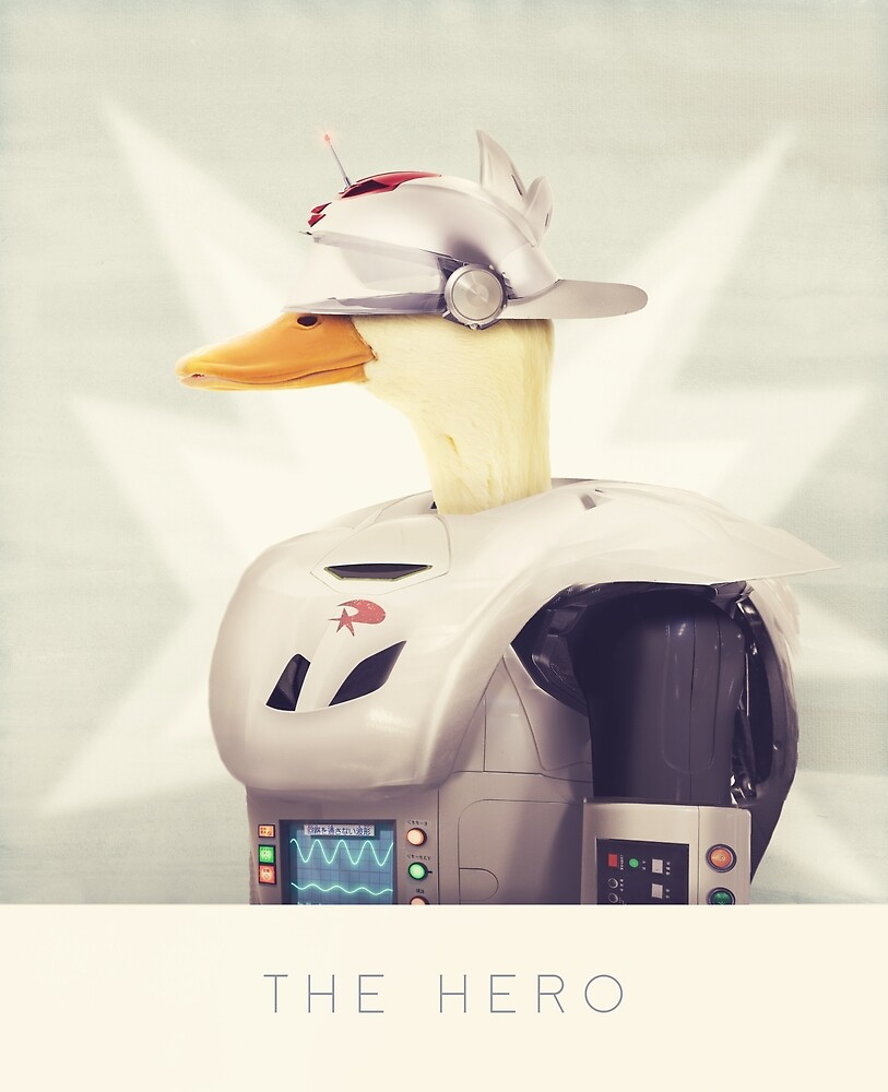 Justice Ducks - The Hero by Andy Wynn
