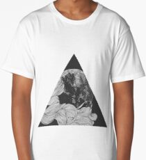 Graphic triangle Long T-Shirt
