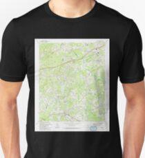 USGS TOPO Map Georgia GA Auburn 244944 1993 24000 Unisex T-Shirt