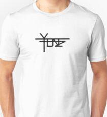 Yenz Official Black on White Unisex T-Shirt