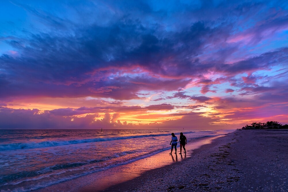 Manasota Key Color by peaceriverphoto